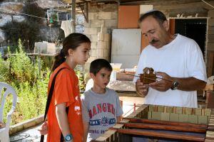 מיכאל אוסניס מלמד על ארון הברית
